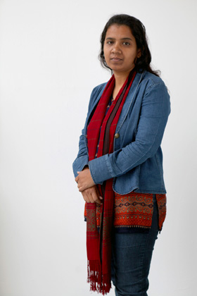 Portrait of Taslima Akhter
